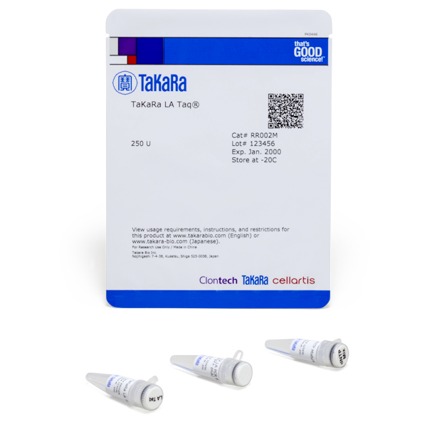 RR002M: TaKaRa LA Taq DNA Polymerase (Mg2+ plus buffer)