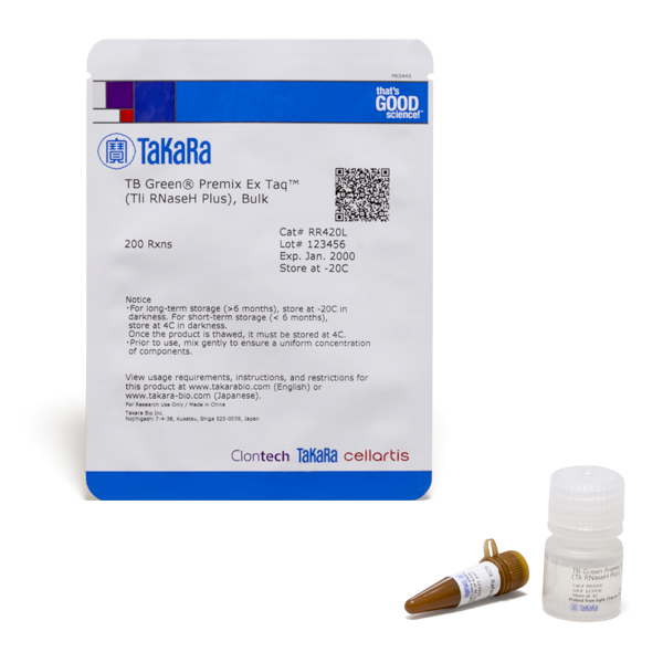RR420L: TB Green Premix Ex Taq (Tli RNase H Plus), 1 x 5 mL