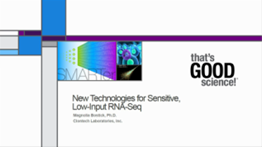 New technologies for sensitive low-input RNA-seq