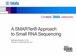 A SMARTer approach to small RNA sequencing