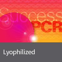 Lyophilized PCR master mixes