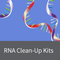 Clean-up and concentration of RNA-containing samples such as pre-purified samples and enzymatic reactions