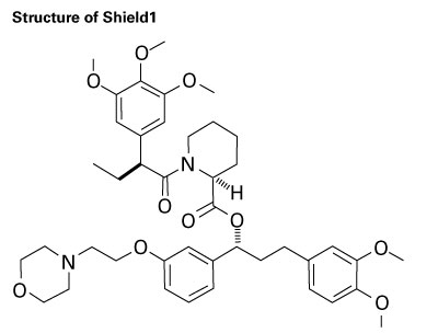 Structure of Shield1 stabilization ligand