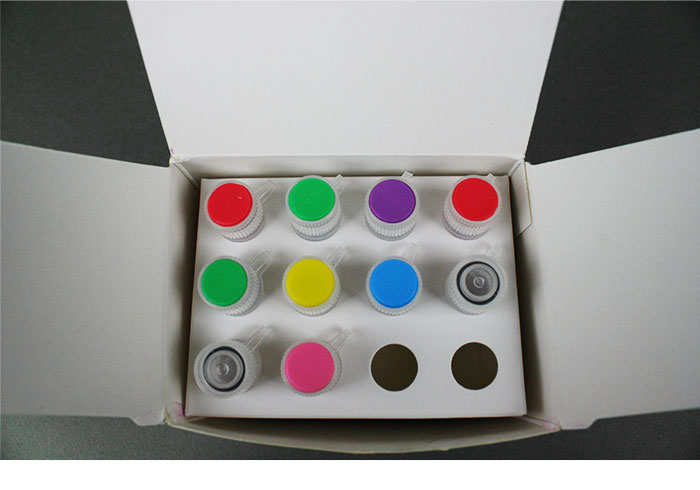 The DNA SMART ChIP-Seq Kit comes with reagents that have color-coded caps for easier identification while carrying out an experiment