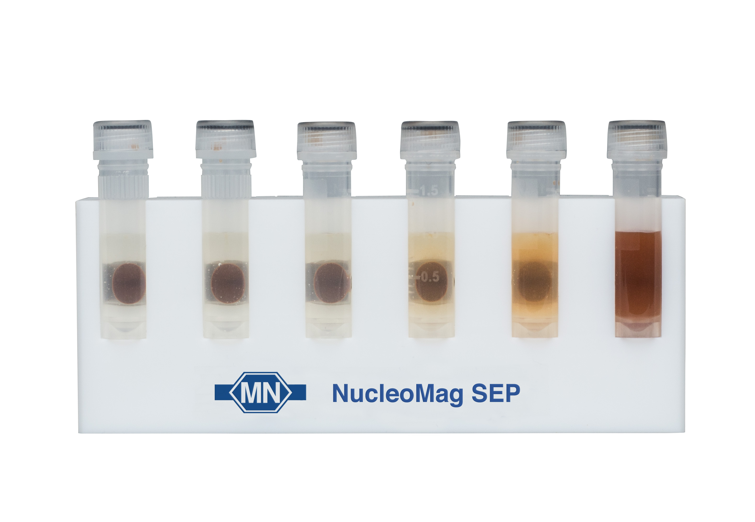 NucleoMag SEP Mini: magnetic separator for use with 1.5 ml or 2-ml tubes