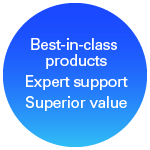 Best-in-class tools, expert support, and value