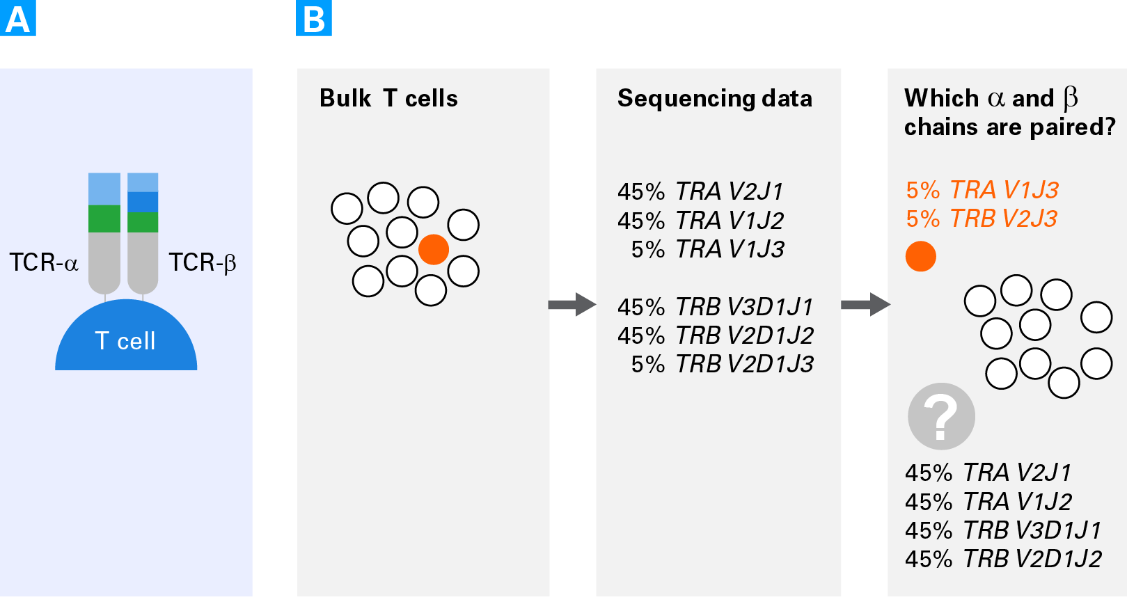 Why single-cell TCR analysis is needed